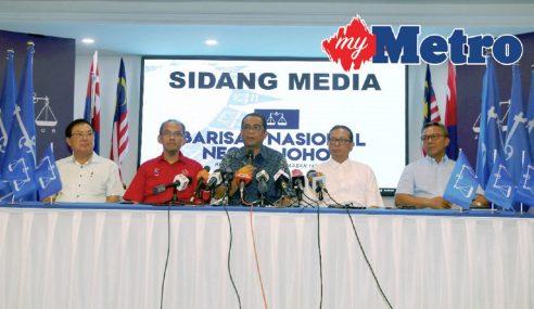 BN Johor Akan Memberi Kerjasama Sebaiknya