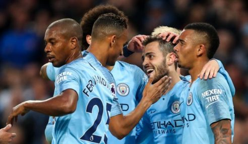 Manchester City Lebur Tiga Rekod Chelsea