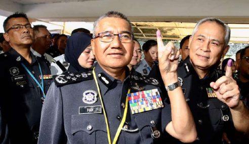 PRU14: Anggota Keselamatan Tunai Tanggungjawab