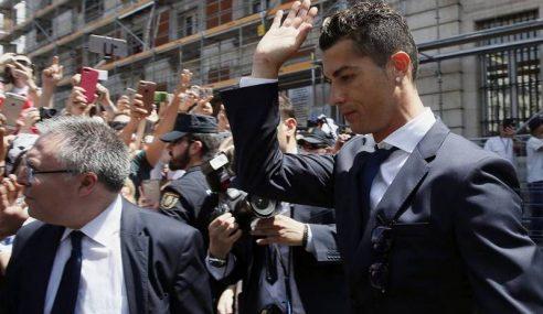 Ronaldo Sedia Bayar 14 Juta Euro Elak Dipenjara