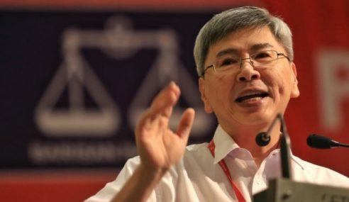 Mah Siew Keong Umum Letak Jawatan Presiden Gerakan