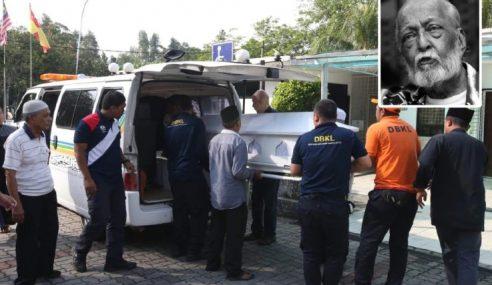 Jenazah Elyas Omar Selamat Dikebumikan