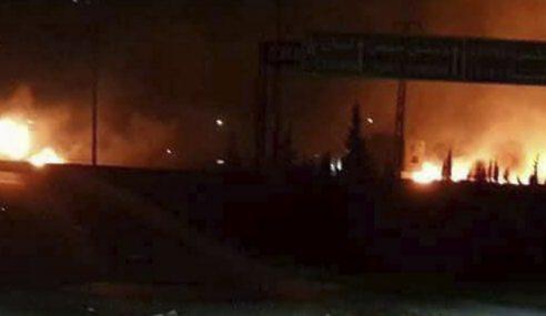 Pasukan Bersenjata Iran Serang Israel Dari Syria