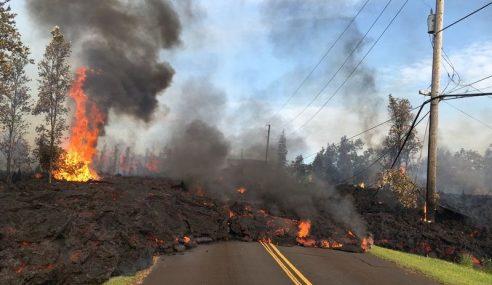 35 Rumah, Bangunan Musnah, Kilauea Terus Meledak
