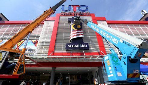 Logo 1Malaysia Diturunkan UTC Seluruh Negara