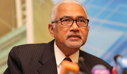 Pengerusi SPR Nafi Hadir Ke Rumah Bekas PM