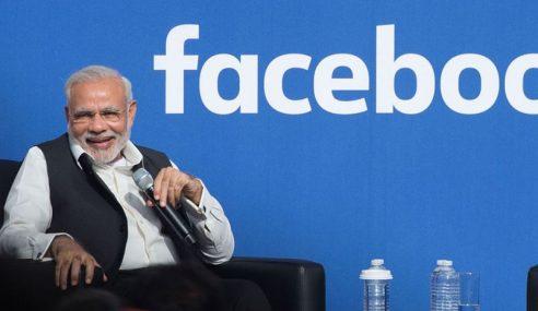 PM India Pemimpin Dunia Paling Disukai Di Laman FB