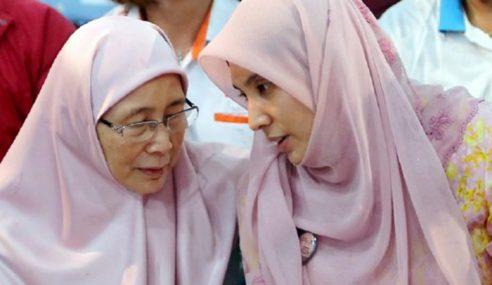 Wan Azizah Nafi Nurul Izzah Kahwini Agong