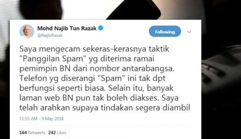 PM Arah Tindakan Segera Terhadap Panggilan Spam