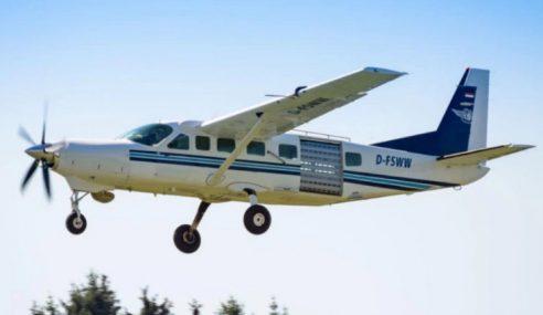 Lima Cedera Pesawat Ringan UNHAS Terbalik