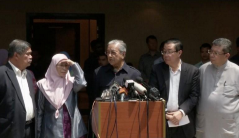 Mahathir Umum Hanya Ada 10 Kementerian Penting