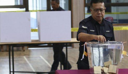 446 Polis Kuala Selangor, Tanjong Karang Undi Awal
