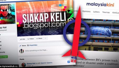 Dokumen Dedah Siakapkeli, Mkini Saluran Fitnah DAP