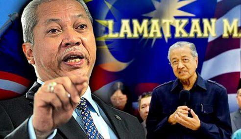 Anwar Kena Biar Mahathir Kekal Jadi PM