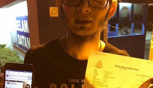 Akaun Palsu Hina Agama, Aweera Buat Laporan Polis