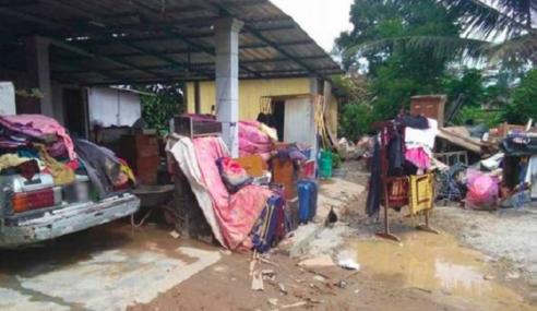 Keadaan Banjir Di Perak Semakin Reda, PPS Ditutup