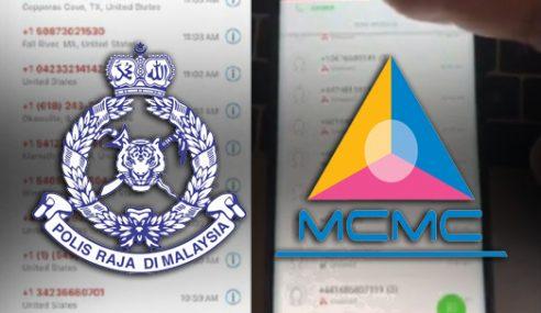 PDRM, MCMC Jalin Kerjasama Tangani Serangan 'BOTS'