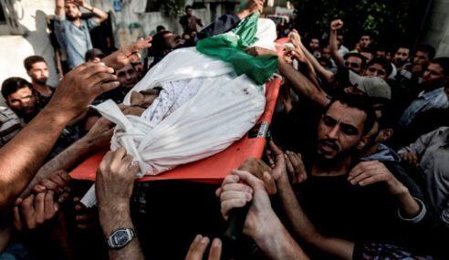 Pejuang Hamas Maut Dibedil Kereta Kebal Israel