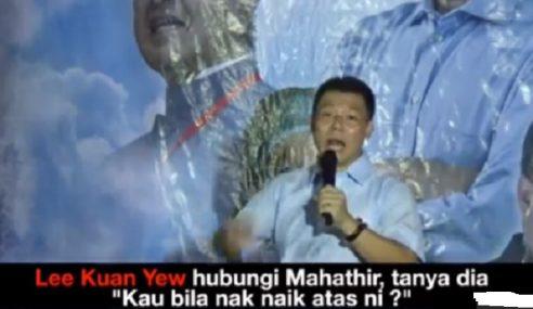 DAP Hina Mahathir Main Mahjong Di Neraka