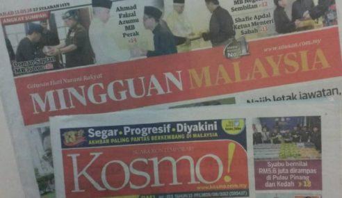 Kosmo!, Mingguan Kekal Akhbar Melayu Terlaris 2017