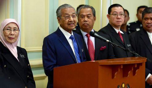 Gaji Jemaah Menteri Dikurangkan 10 Peratus