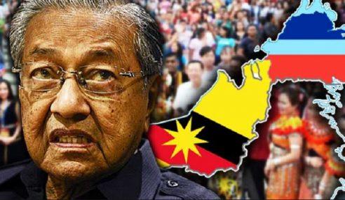 Mahathir Kata BN Sabah Main Kotor Tapi Boleh Di Sarawak