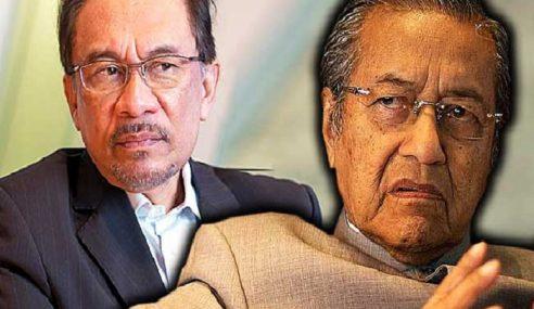 Majoriti Mahu Tun M Berundur Diganti Anwar
