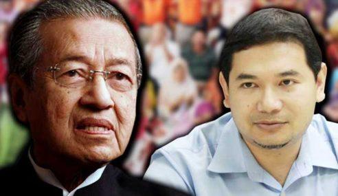Rafizi Dakwa PH Menang Bukan Sebab Mahathir