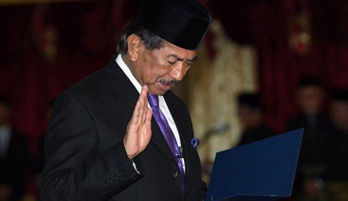 Musa Aman Angkat Sumpah Ketua Menteri Sabah