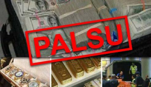 Gambar Tular Konon Harta Mewah Najib Disahkan Palsu