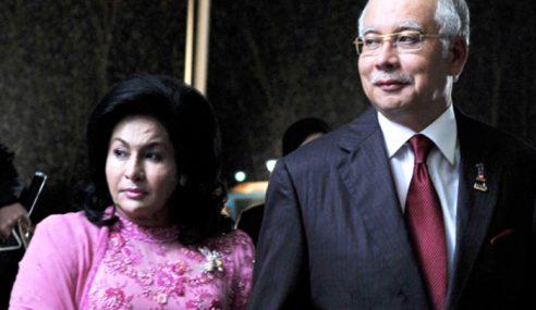 Najib, Rosmah Belum Tarik Semula Saman Rafizi