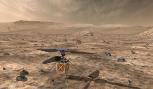 Menjelang 2020 NASA Hantar Helikopter Ke Marikh