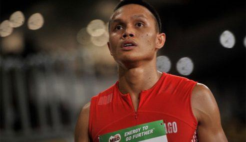 Jonathan Nyepa Puas Catat Rekod Peribadi 200m