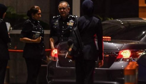 Operasi Pencarian Di Kediaman Mewah Najib