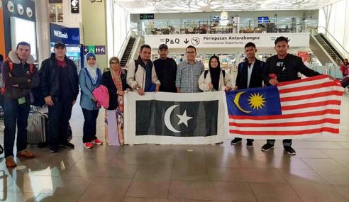 3 Pelajar Malaysia Juara Pertandingan Nuklear Dunia