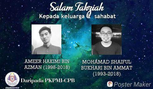 Jenazah Dua Pelajar Malaysia Dijangka Tiba 1 Mei
