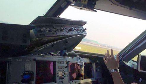 Tingkap Kokpit Pecah, Pesawat Mendarat Cemas