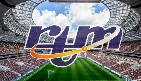 Piala Dunia FIFA 2018 Disiar Secara Langsung Di RTM