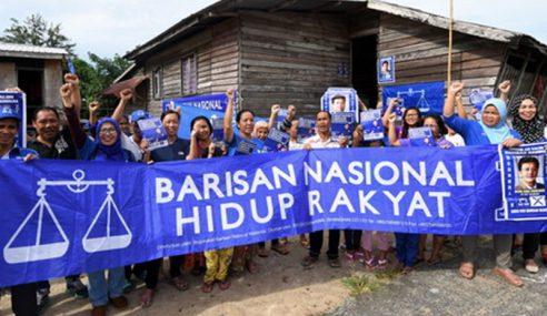 Suku Kaum Rungus Di Kg. Labuan Sama Sokong BN
