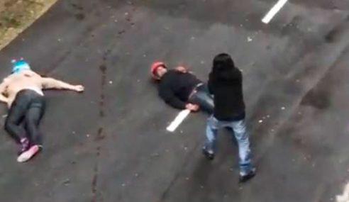 Dua Perompak Kedai Emas Ditembak Mati