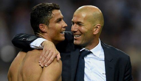 """Zidane Jurulatih Terbaik Saya"" – Ronaldo"