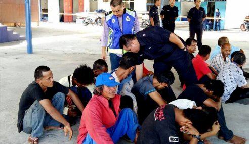 Polis Terengganu Tahan 28 Suspek Dalam Op Pau