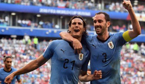 Piala Dunia: Uruguay Dahului Kumpulan Benam Rusia 3-0