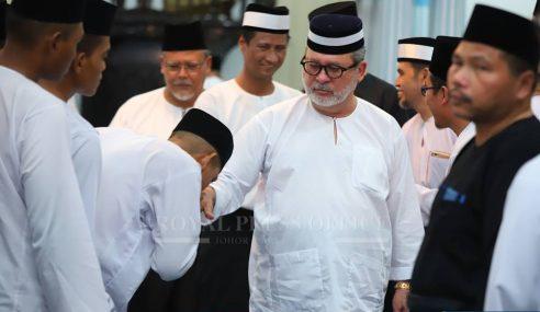 Sultan Johor Tidak Adakan Rumah Terbuka