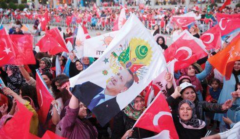 56 Juta Rakyat Turki Keluar Mengundi Pilihan Raya