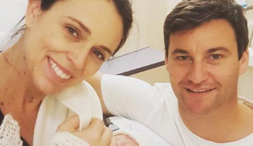 PM New Zealand Selamat Lahir Bayi Perempuan