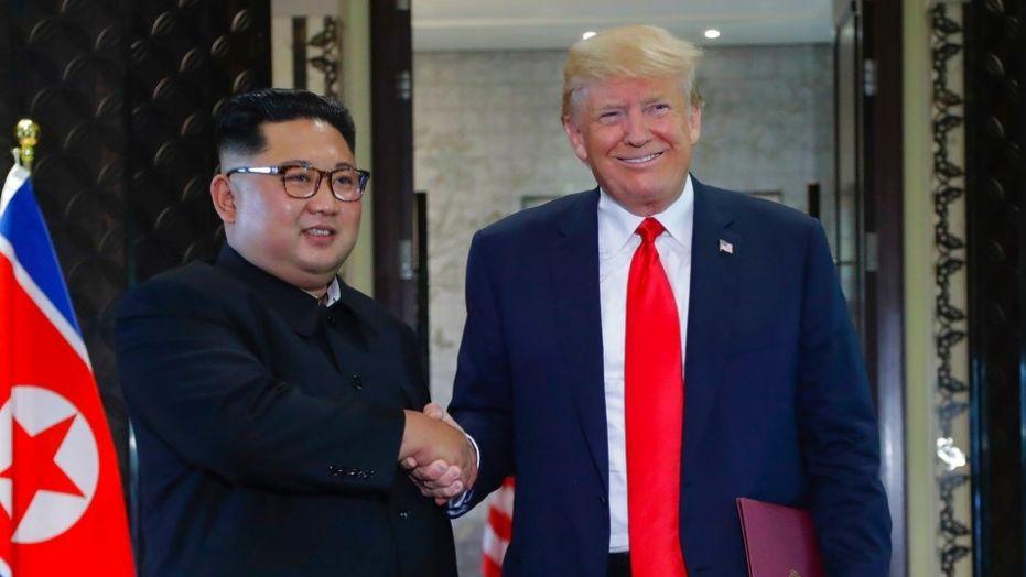 Jong-Un - Trump