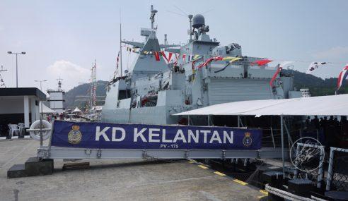 KD Kelantan Pindah Ke Markas Armada Timur