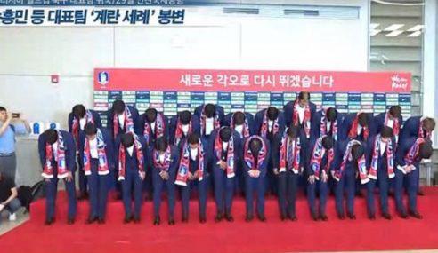 Pulang Awal, Skuad Korea Selatan Dibaling Telur