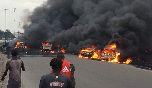Trak Bahan Api Meletup, 9 Maut Di Nigeria